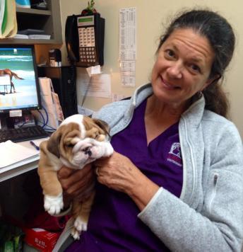 Lorraine found a new friend.