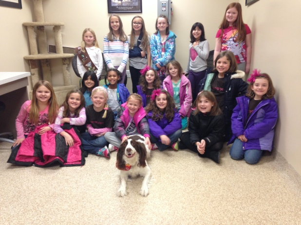 Leesburg Veterinary Hospita girl scouts