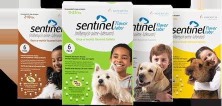 Sentinel chewable tablets. Image source: Sentinelpet.com