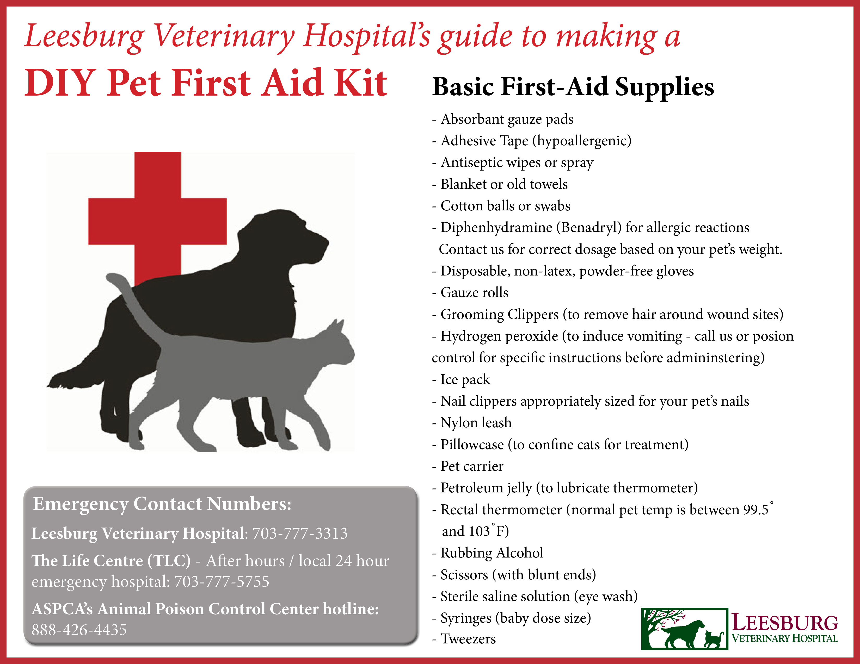 Be pet prepared in the event of a natural disaster