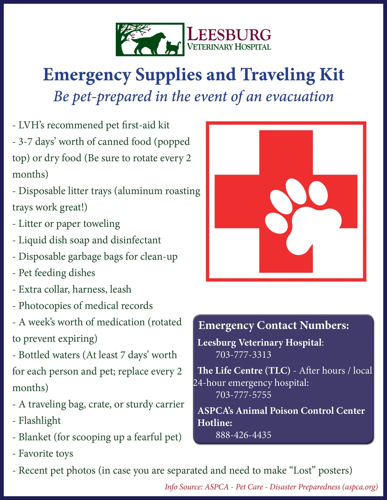 pet evacuation for future natural disasters Disaster preparedness considerations for animal owners: southern california is subject to a number of different natural disasters such see our pet evacuation kit.