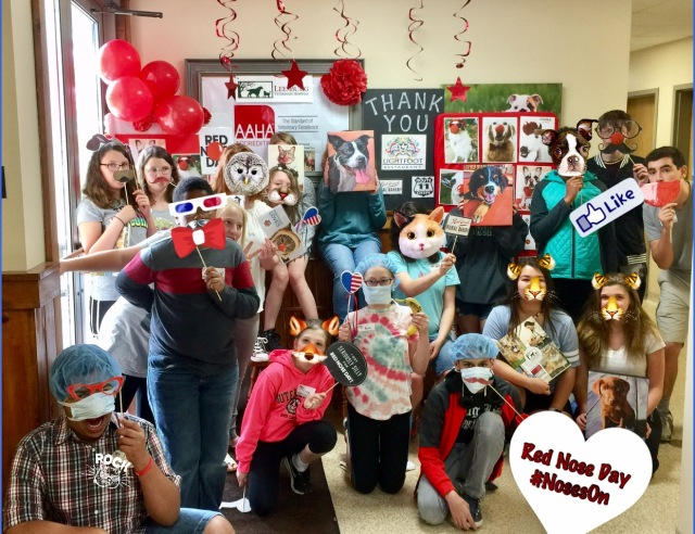 LVH in the Community - Red Nose Day