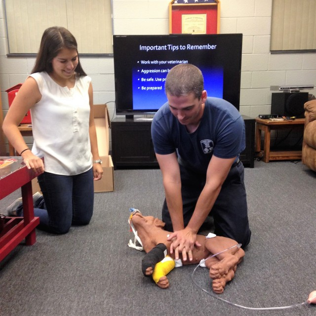Leesburg Loudoun County Fire Department Leesburg Veterinary Hospital Pet First Aid