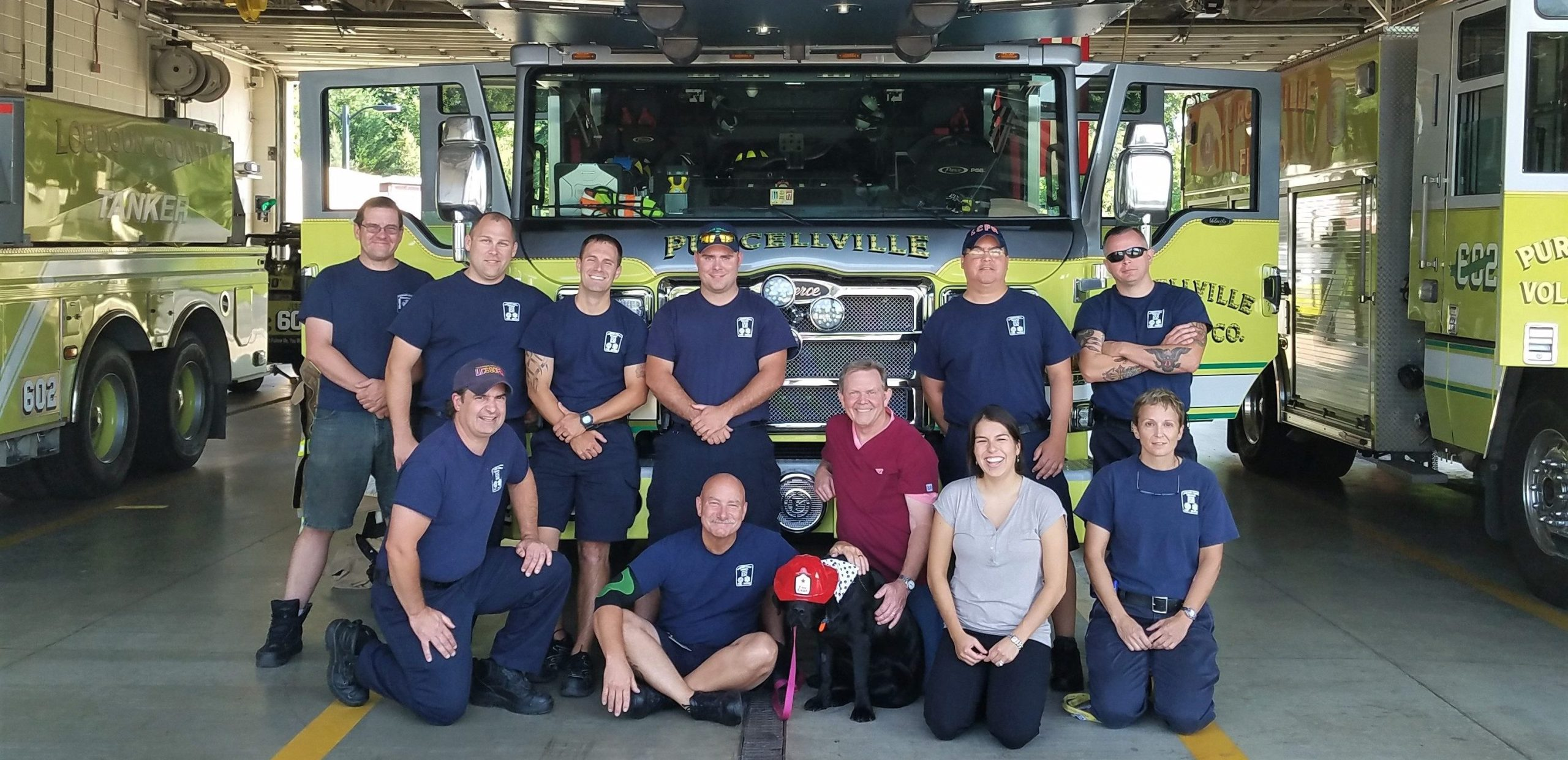 Purcellville Fire Department Leesburg Veterinary Hospital - Pet First Aid Training
