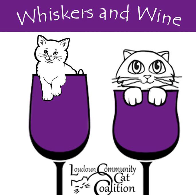 Whiskers and Wine Loudoun Community Cat Coalition Leesburg Veterinary Hospital